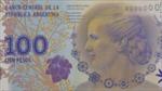 Tiền mới của Argentina in hình Đệ nhất phu nhân Evita