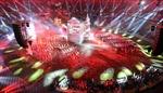 Tưng bừng những màn pháo hoa khai mạc Olympic 2012