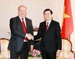 Chủ tịch nước Trương Tấn Sang kết thúc tốt đẹp chuyến thăm Nga