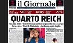 Báo của Berlusconi ví Thủ tướng Đức với Hitler