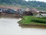 'Sa tặc' lộng hành trên sông Lô