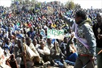 Nam Phi để tang nạn nhân vụ đụng độ thợ mỏ - cảnh sát