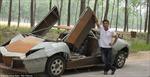 Chế tạo siêu xe từ…sắt vụn