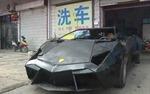 Nông dân Trung Quốc chế 'siêu xe' Lamborghini