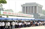 Gần 48 ngàn lượt người vào Lăng viếng Chủ tịch Hồ Chí Minh dịp Quốc khánh