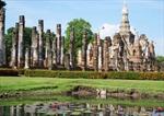 Kinh đô Sukhothai của Thái Lan ngập trong nước