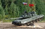 'Vũ điệu ballet' của xe tăng Nga