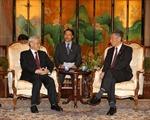 Tổng Bí thư Nguyễn Phú Trọng bắt đầu thăm chính thức Xinhgapo