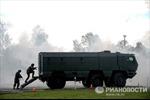 Nga thử nghiệm xe tải quân sự KAMAZ mới