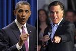Ông Romney bứt lên dẫn điểm sát nút