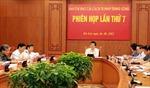 Phiên họp Ban Chỉ đạo Cải cách tư pháp Trung ương lần thứ 7