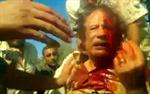 Kadhafi chết vì bị đâm bằng lưỡi lê