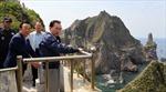 Nghị sĩ Hàn Quốc tới quần đảo tranh chấp với Nhật