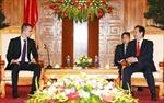 Thủ tướng Nguyễn Tấn Dũng tiếp khách