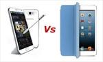 Galaxy Note II 'trúng quả', iPad mini bị 'ghẻ lạnh'
