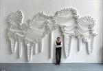 Tác phẩm nghệ thuật làm từ... giấy vệ sinh