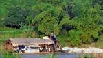 'Vàng tặc' vẫn lộng hành trên sông Hồng