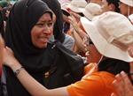 Nghẹn ngào tiễn tàu Thanh niên Đông Nam Á rời Việt Nam