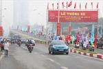 Thông xe cầu vượt nhẹ Láng Hạ - Lê Văn Lương