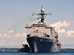 Ba tàu chiến Mỹ ngược dòng trở lại Israel