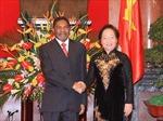 Tổng thống Khu bán tự trị Dandiba thăm Việt Nam