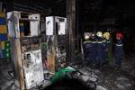 TP. HCM: Cây xăng nổ cháy, dân hoảng loạn bỏ chạy