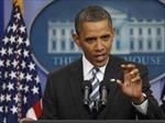 Ông Obama không tham gia 'cuộc chiến' trần nợ công