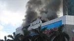 Video: Vụ cháy siêu thị lớn nhất Hà Tĩnh