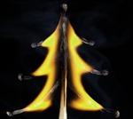 Nghệ thuật từ que diêm cháy