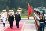 Tổng Bí thư, Chủ tịch nước Lào thăm chính thức Việt Nam