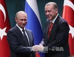 Lãnh đạo Nga, Thổ Nhĩ Kỳ điện đàm về vấn đề Syria