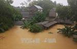 Cảnh báo lũ quét, sạt lở đất tại Hòa Bình, vùng áp thấp đang có xu hướng mạnh dần lên