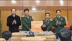 Chủ tịch nước Trần Đại Quang thăm, chúc Tết các đơn vị trong đêm Giao thừa
