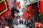 Khoảng khắc yên bình của Hà Nội ngày đầu năm mới