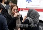 Thời tiết xấu cản trở công tác tìm kiếm máy bay Iran chở 66 người gặp nạn
