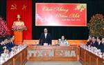 Thủ tướng Nguyễn Xuân Phúc gặp mặt, chúc Tết đầu Xuân các cơ quan Đảng