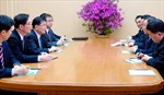 Hình ảnh đoàn đặc phái viên Hàn Quốc tại Triều Tiên