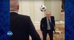 Xem Tổng thống Putin tung bóng điêu luyện cùng Chủ tịch FIFA