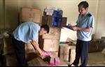 Hải quan cửa khẩu Móng Cái bắt giữ lượng lớn hàng mỹ phẩm nhập lậu