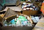 Tạm giữ 32 thùng mỹ phẩm không nguồn gốc, xuất xứ