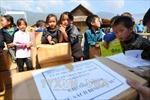 Trao tặng Thư viện 'Tủ sách Đinh Hữu Dư' cho học sinh miền núi Bình Định