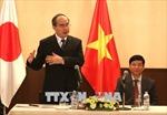 Bí thư Thành ủy Nguyễn Thiện Nhân mời cộng đồng người Việt Nam tại Nhật chung tay xây dựng thành phố