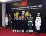Lãnh đạo Đảng, Nhà nước và nhân dân đến viếng nguyên Thủ tướng Phan Văn Khải