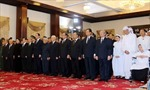 Dòng người đến viếng nguyên Thủ tướng Phan Văn Khải tại TP Hồ Chí Minh