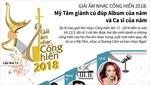 Giải Âm nhạc Cống hiến 2018: Mỹ Tâm giành cú đúp 'Album của năm' và 'Ca sĩ của năm'