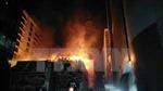 Cháy siêu thị điện tử tại Nghệ An