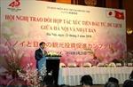 Hà Nội và Nhật Bản tìm cơ hội hợp tác, phát triển