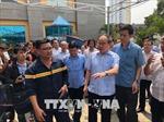 Bí thư Thành ủy TP. Hồ Chí Minh thăm hỏi gia đình nạn nhân vụ cháy chung cư Carina Plaza
