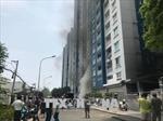 Phó Chủ tịch nước thăm hỏi, chia buồn với gia đình các nạn nhân vụ cháy chung cư Carina Plaza