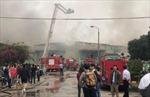 Vĩnh Phúc: Cháy lớn tại phân xưởng Công ty may Vina Korea
